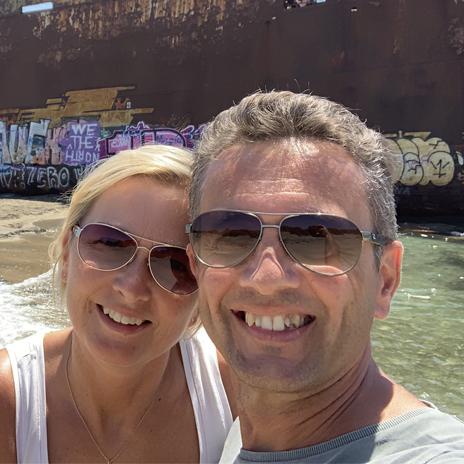 Portrait von Evi und Mike