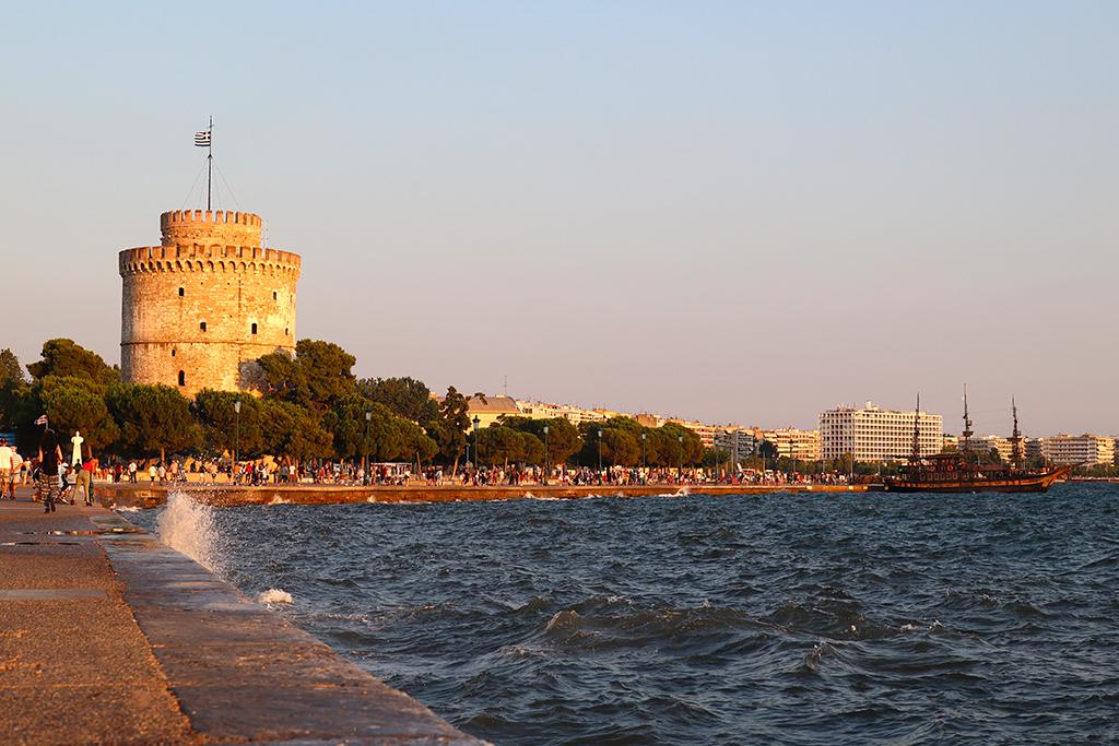 Weißer Turm in Thessaloniki