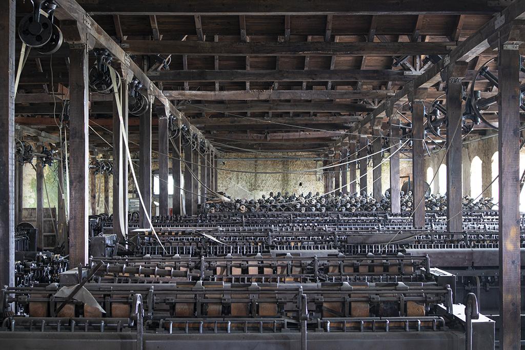 Alte Spinnerei und Seilfabrik in Edessa