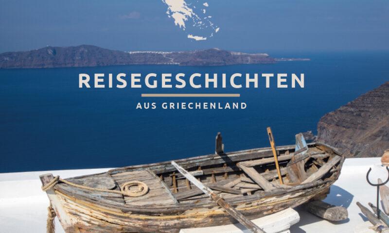 Coverseite Buch Reisegeschichten aus Griechenland